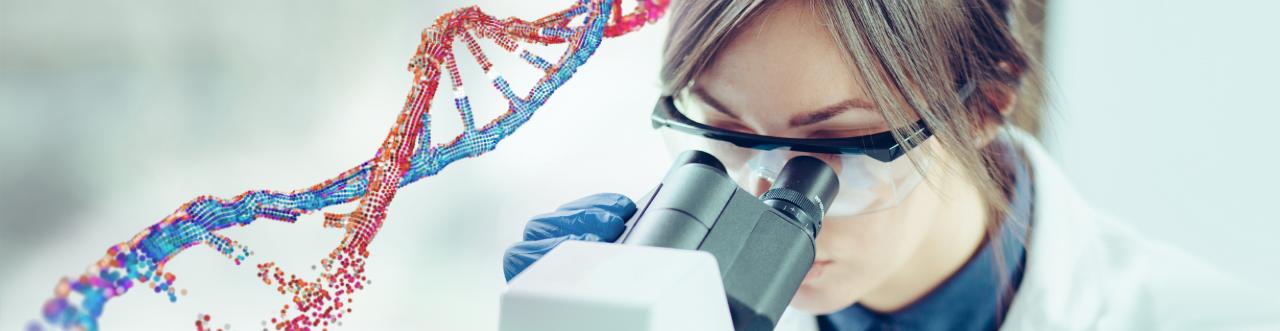 PhaRNA lab technician working with RNA